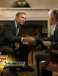 Obama descartó a los indocumentados en la reforma de salud en entrevista...