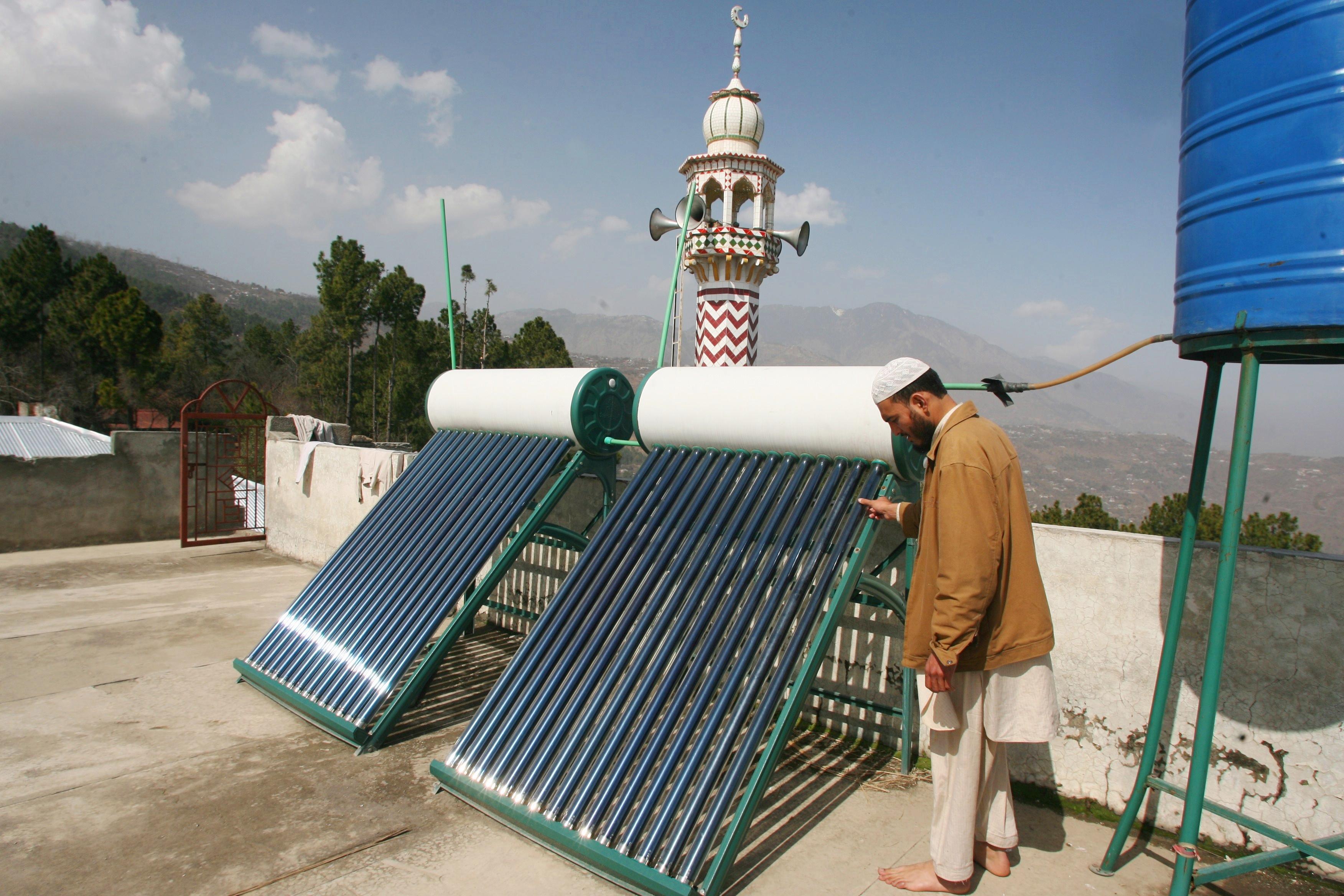 La energ a solar t rmica es la fuente m s econ mica y for Calefaccion economica