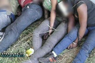 Imágenes de cadáveres de Tamaulipas