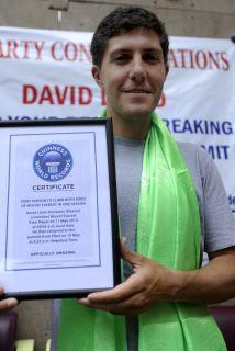 El mexicano David Liaño es la primera persona en escalar el Monte Everes...