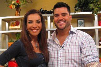 Maggi Jiménez y el Chef Gerdy Rodríguez se divirtieron fusionando sabore...