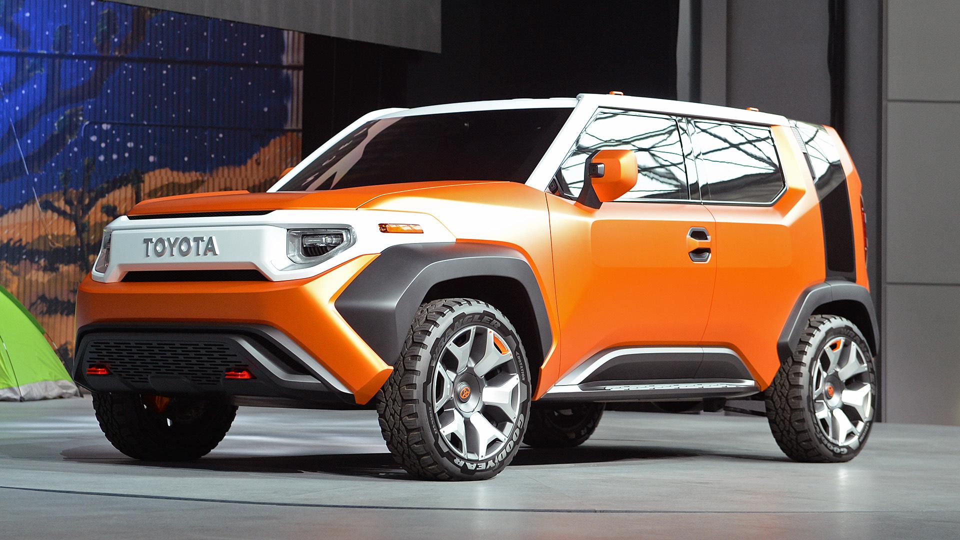 Nueva York 2017 Toyota Muestra Su Concepto Ft 4x Una