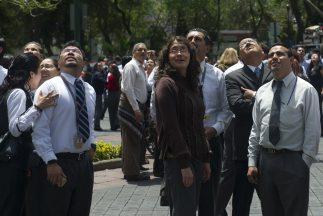 Sismo en la Ciudad de México, provocó daños materiales y crisis nerviosas.