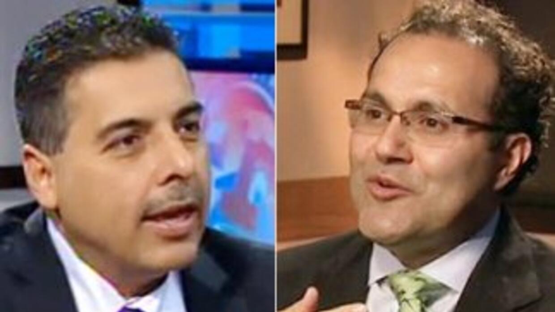 El ex astronauta José Hernández y el doctor José Qjuiñonez, dos grandes...