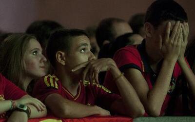 Chile le propinó a España su 'Maracanazo' y la eliminó