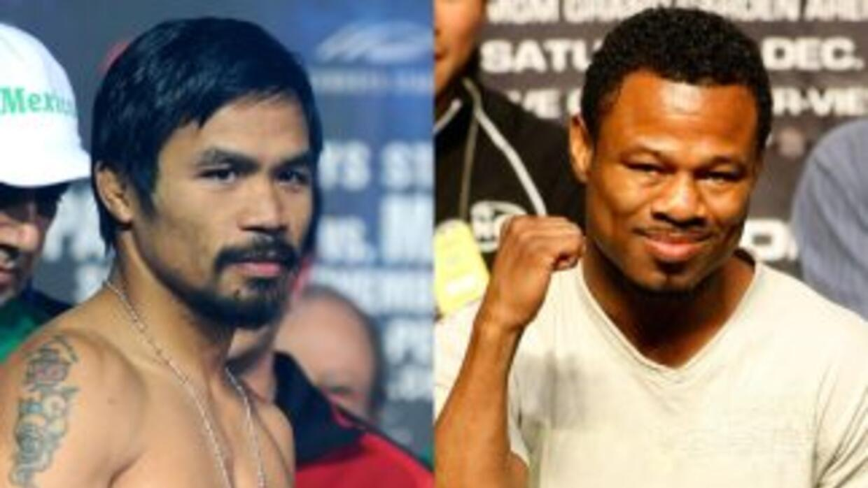 Manny Pacquaiao y Shane Mosley pelearán en mayo