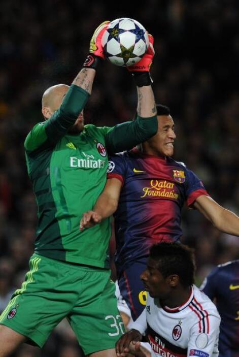 Valdés estuvo poco exigido pero seguro.