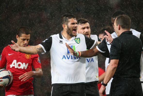 Al minuto 20 se marcó un penalti en favor de los locales y ni los reclam...