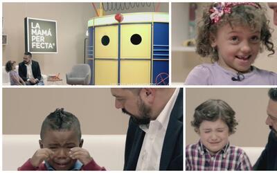 Estos niños querían la mamá perfecta, pero se llevaron una sorpresa