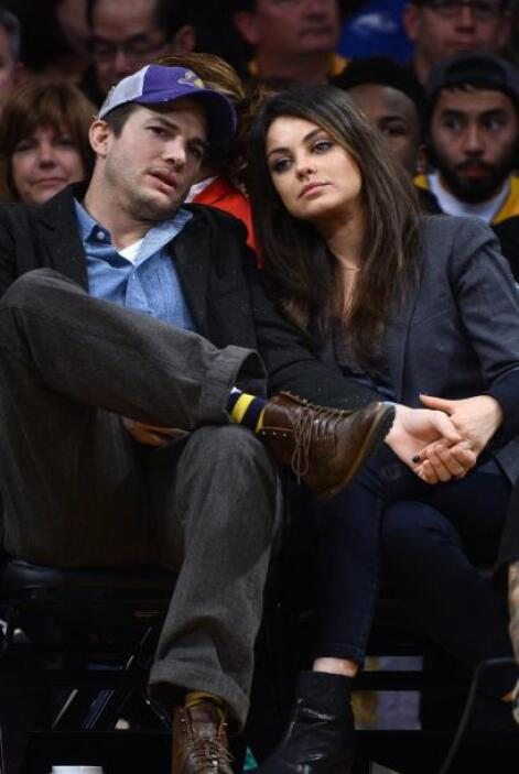 La cita fue en el Staples Center de Los Angeles, en donde vieron jugar a...