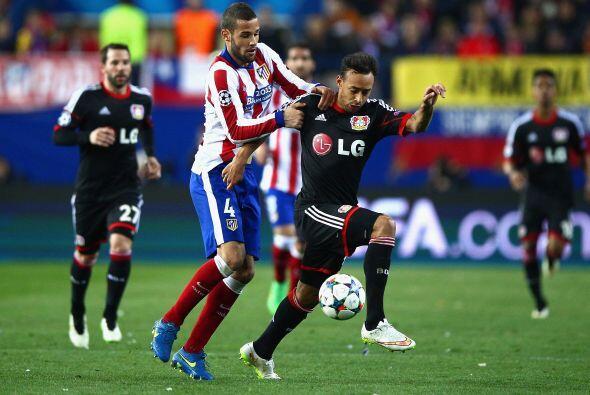 En tanto el Atlético de Madrid luchó poniendo garra y cora...