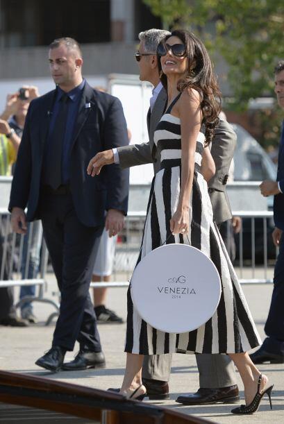 La pareja contrajo nupcias hace un par de días en Venecia.