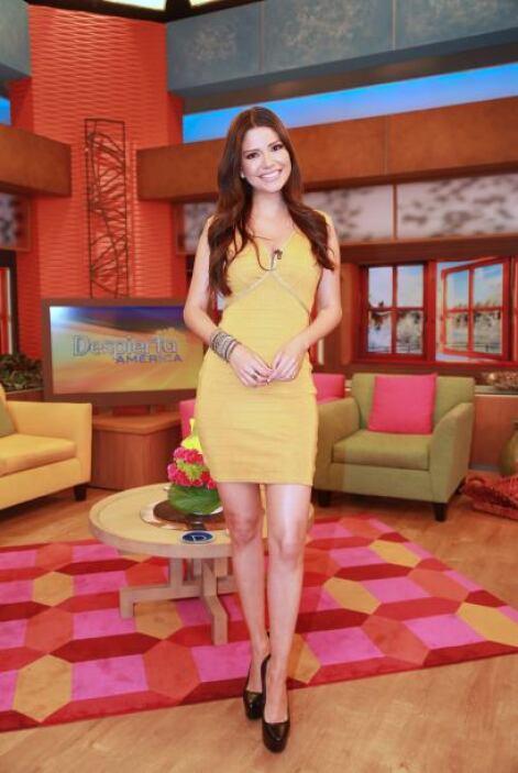 Marzo 10, 2014: Amarillo, el color ideal para comenzar una semana muy al...