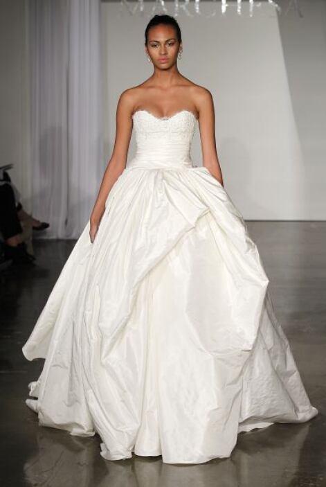 Una boda es el cuento de hadas de toda mujer y para eso un vestido 'stra...