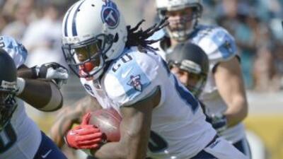 Los días de Chris Johnson con los Titans están contados (AP-NFL).