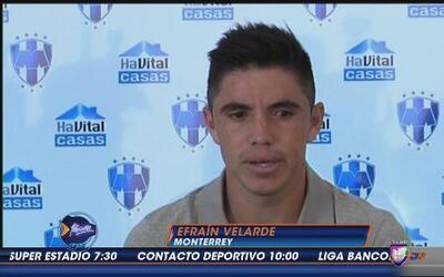 Efraín Velarde: ''Monterrey todavía puede mostrar un mejor nivel''