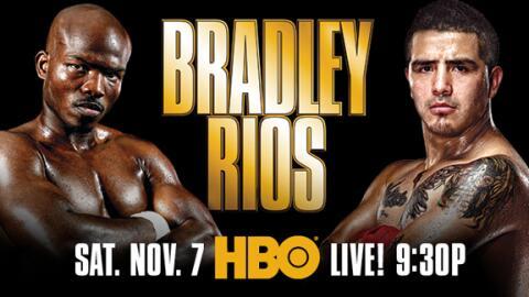 Timothy Bradley y Brandon Ríos