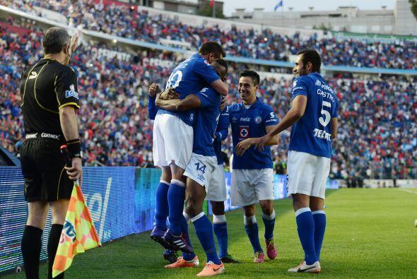 Christian Giménez le regaló el octavo triunfo a Cruz Azul en un torneo q...