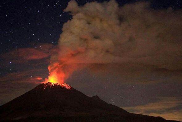 A pesar de la intensa actividad que ha mantenido el volcán Popocatépetl...