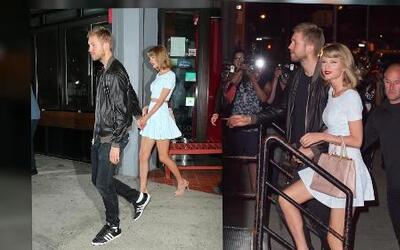 Taylor Swift y Calvin Harris en cita romántica