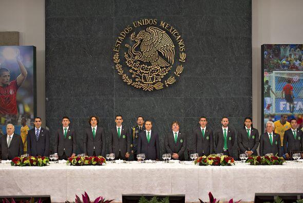 Rafael Márquez, Guillermo Ochoa, Oribe Peralta, Francisco Javier Rodrígu...