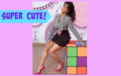 Francisca te dice cómo armar un look retro para Premios Juventud