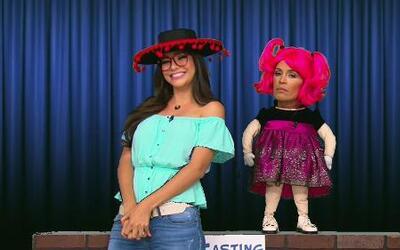 Vulgarcita hizo un casting para su show de chistes