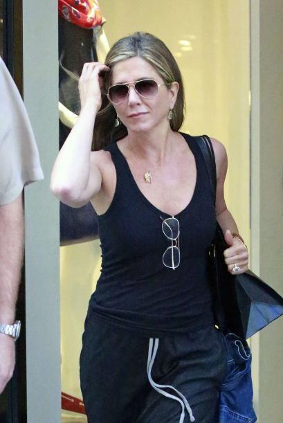 Jennifer Aniston y Justin Theroux comenzaron su relación en mayo de 2011...