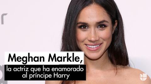 Meghan Markle, la actriz que ha enamorado al príncipe Harry