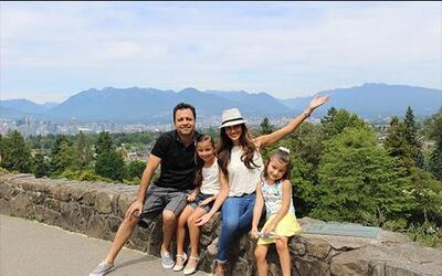 Vancouver, Canadá y Alaska fueron los lugares visitados por Omar y Argel...