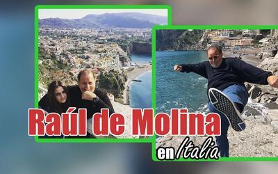 Raúl de Molina en Italia
