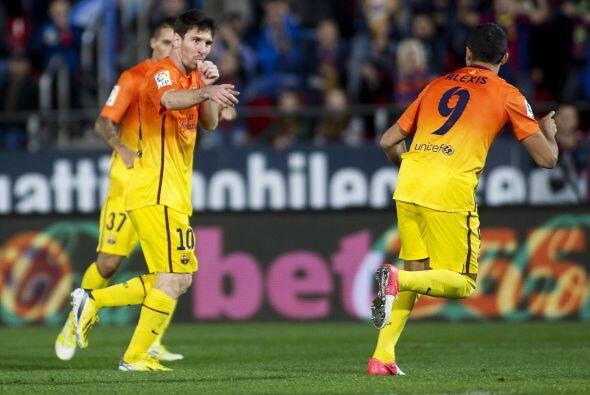 'La Pulga' no perdonó y firmó el 4-2 final, que a su vez e...