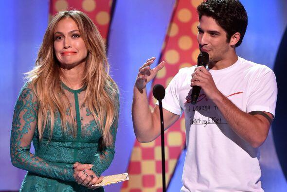 Tyler le bailó a J.Lo