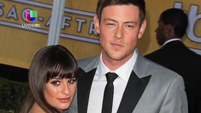 Lea Michele no ha superado la muerte de Cory Monteith
