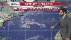 Arlene, la prematura y primera tormenta tropical de 2017