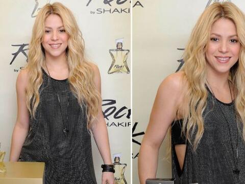 Shakira presentó su nueva frangancia, 'Rock by Shakira' y nos des...