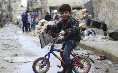 Unicef denuncia que el 2016 fue el peor año para los niños en Siria