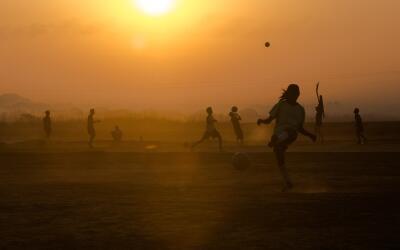 Fútbol en la India