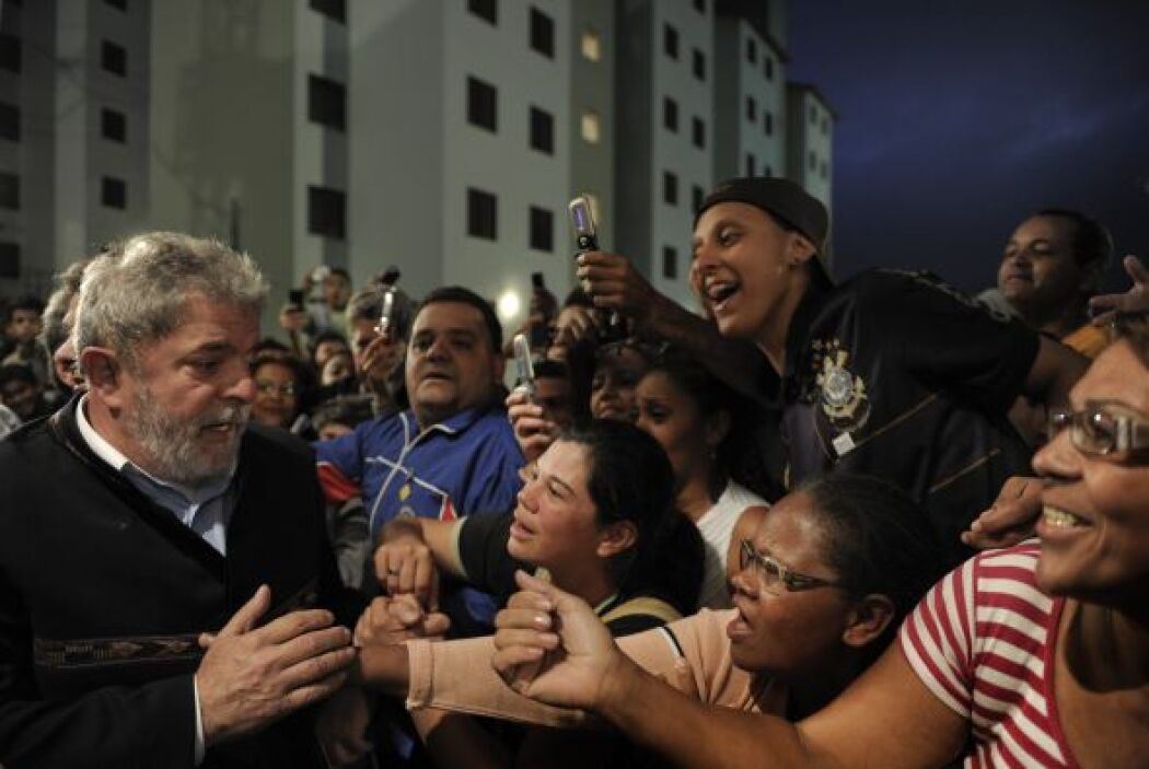 El presidente de Brasil, Luiz Inácio Lula Da Silva, encabezó la ceremoni...