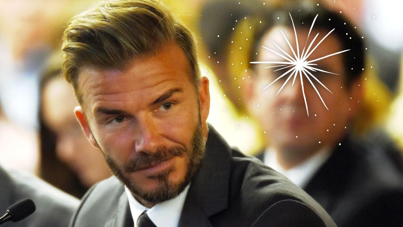 David Beckham es el primer embajador global de la línea de cuidad...