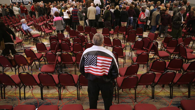 Reunión política en Carolina del Sur