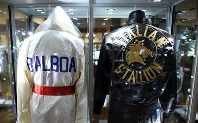 """Sylvester Stallone subasta recuerdos de """"Rocky"""". El actor pondrá en vent..."""