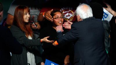 Mitin de campaña de Sanders en Louisville, Kentucky