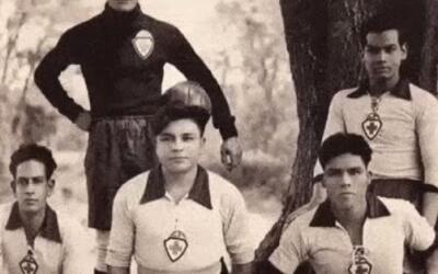 Cruz Azul en sus inicios.