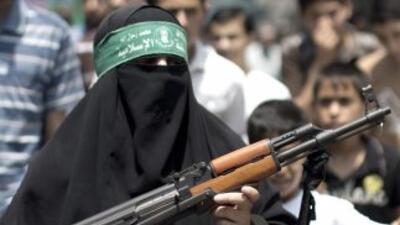 Tras la muerte de al menos siete combatientes palestinos en Gaza la tens...