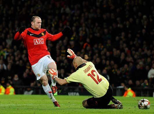 Wayne Rooney sigue su racha particular le endosó dos goles al cua...