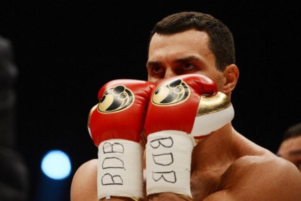 Fue la primera pelea de Wladimir Klitschko sin su entrenador Emanuel Ste...