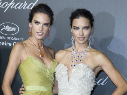 La pareja de modelos brasileñas cautivaron a todo el Festival de...