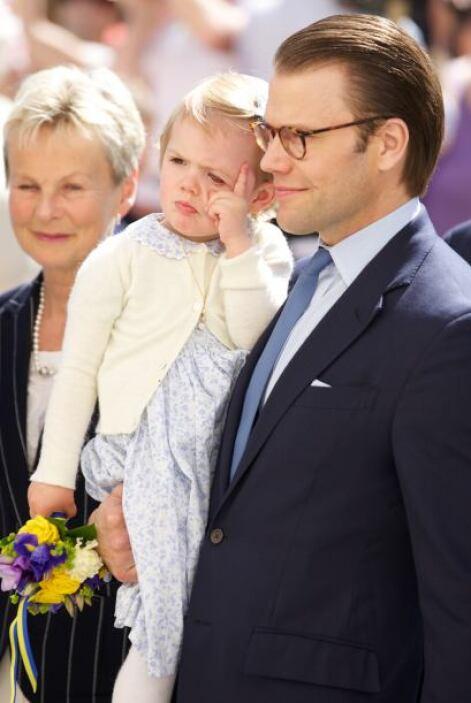 La princesa Estelle de Suecia se robó el corazón de chicos y grandes dur...