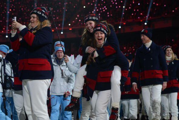 El equipo estadounidense.